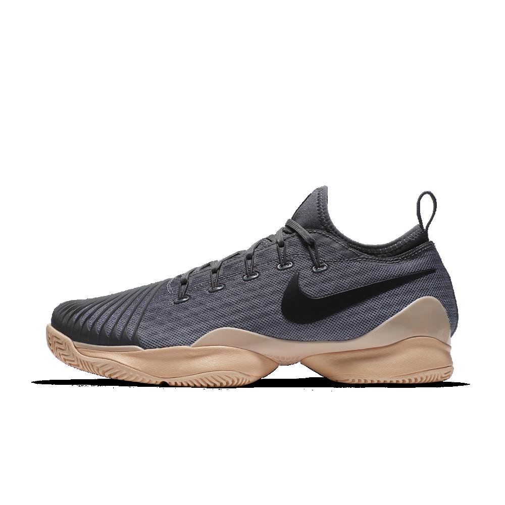 fe9a81dcb2a7 Nike NikeCourt Air Zoom Ultra React Women s Tennis Shoe Size 9 (Grey ...