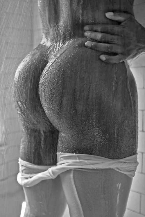 Sexy Black Wet Ass
