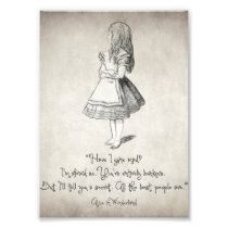 Have I Gone Mad Quote Photo Print   Zazzle.com