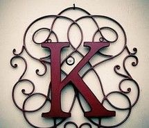 Love The Background | letters 2***** | Pinterest | Iron wall ...