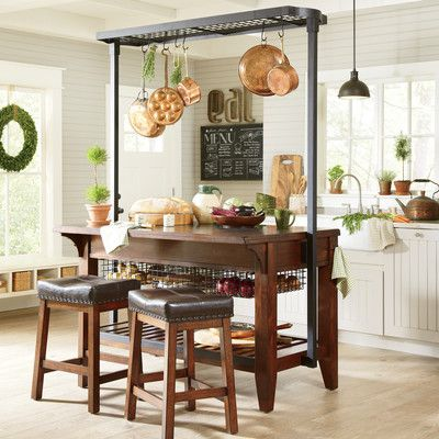 Birch Lane Irving Kitchen Island