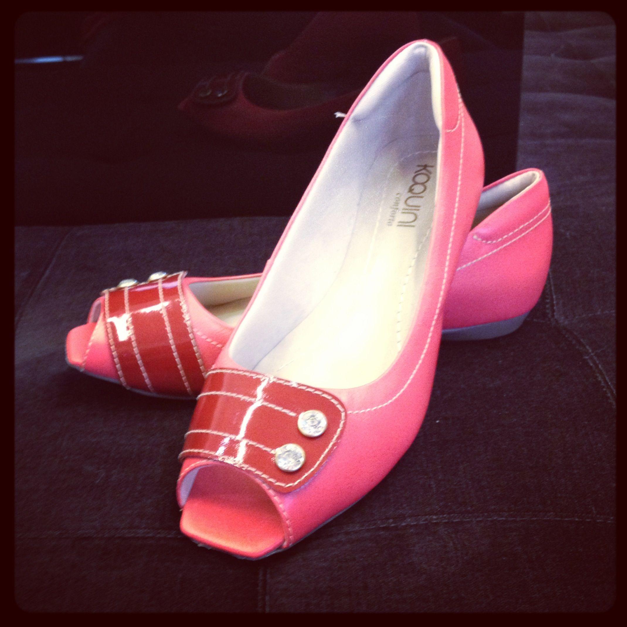 Peeptoe Conforto, já tem o seu? #koquini #sapatilhas #euquero #peeptoe #conforto