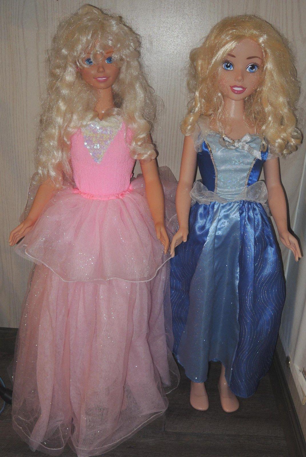 Sale Lot Disney Frozen Elsa My Life Size Barbie Dolls 38 Tall W