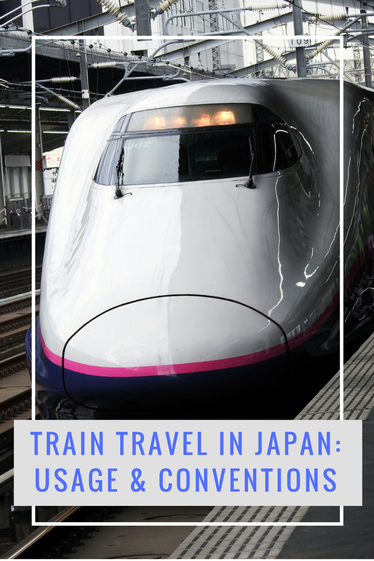 Find out what it's like to take the trains in Japan!