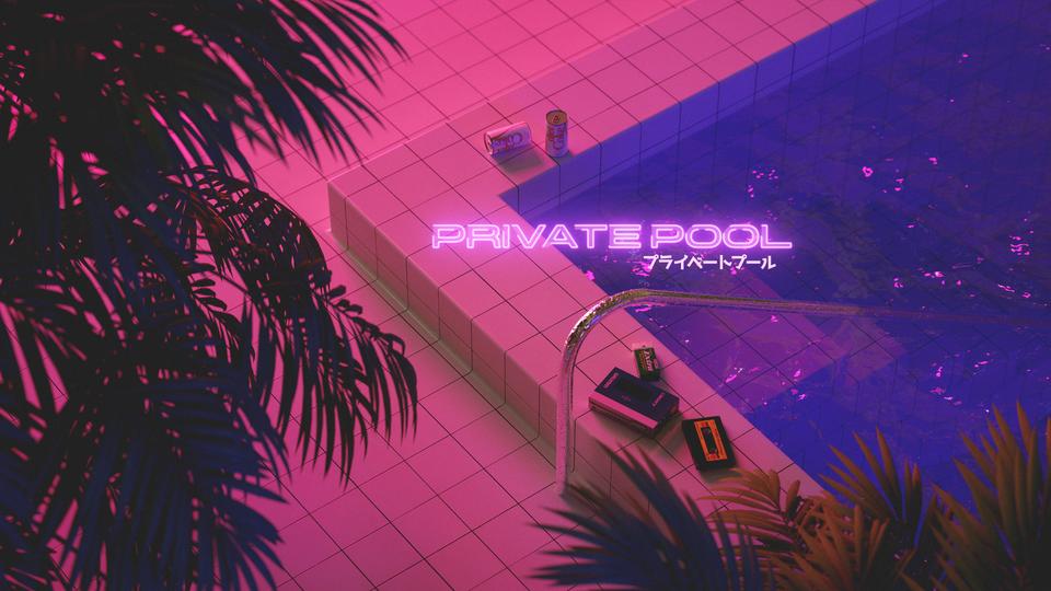 Private Pool : VaporwaveAesthetics | Private pool, Pool ...