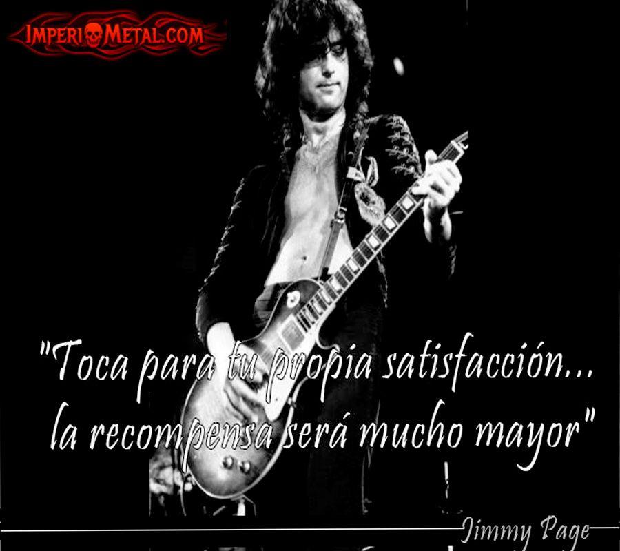 Jimmy Page Frases Celebres Jimmy Page Y El Humor