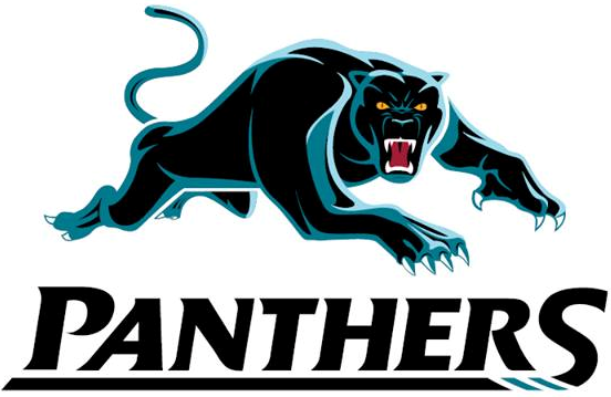 Penrith Panthers Primary Logo (2013Pres) Panther logo