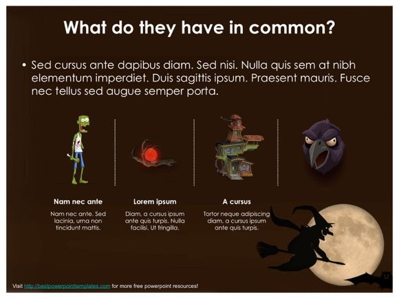 This Is Another Amazing Halloween Powerpoint Template Which Is