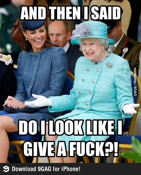 Queen Elizabeth Just Being Herself Everything Funny Queen Of England Funny Pictures