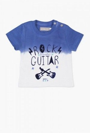 Camiseta punto liso de bebé niño Little Boy Outfits, Little Boys, Babies  Fashion, c8445a4bf3fb