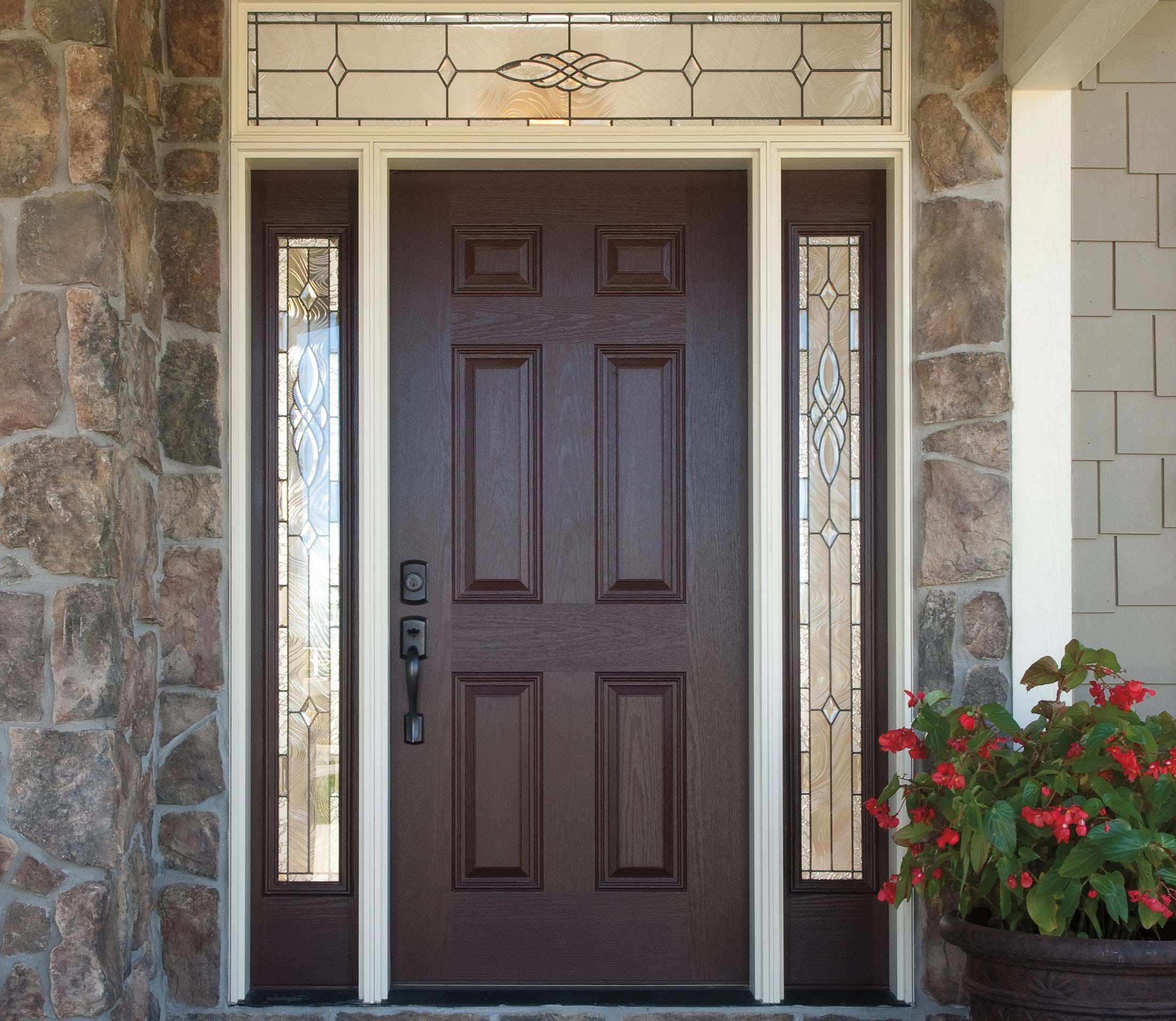 Pella 6 Panel Entry Door Solid Panel Pella Com