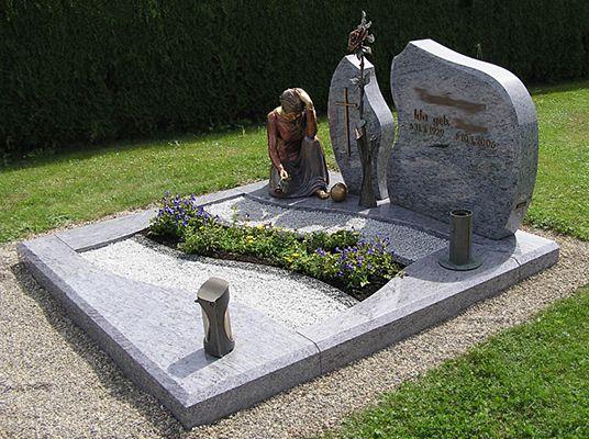 Grabgestaltung motiv15 grabgestaltung pinterest for Grabgestaltung mit steinen