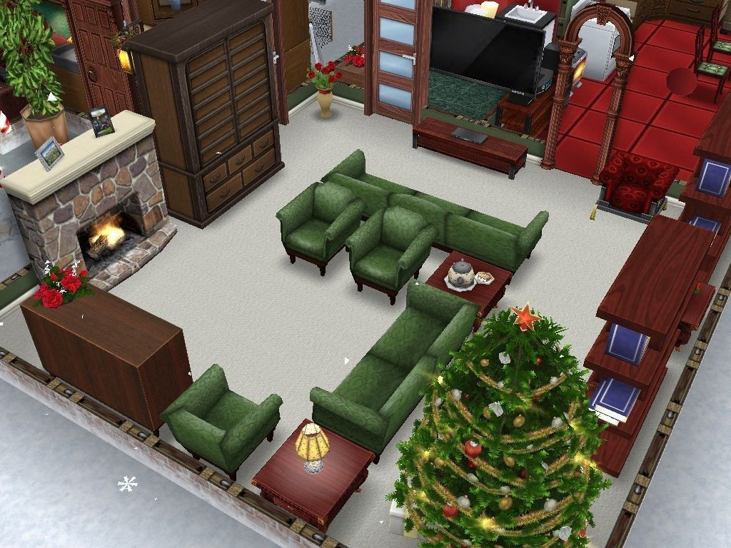 Sims Freeplay I Like The Chair Layout