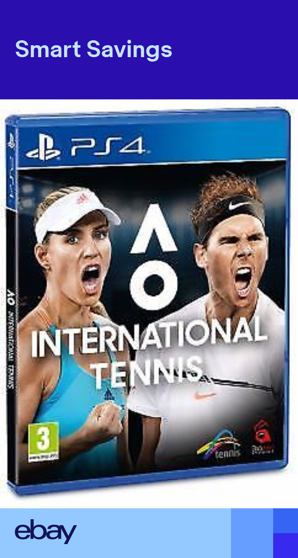Ao International Tennis Ps4 Game Ps4 Games Detroit Become Human Ps4 Game Uk