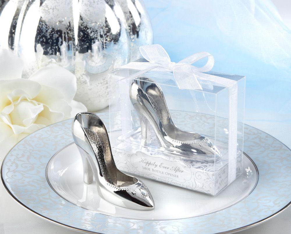 Cinderella glass slipper bottle opener | Favors + Invitations ...