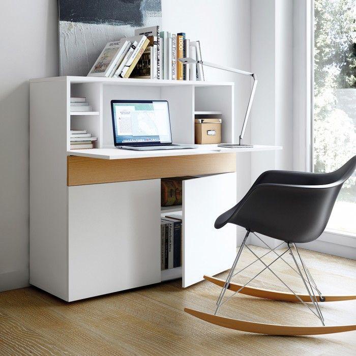 Scaffale con ante niche for the home escritorios for Scaffale da scrivania