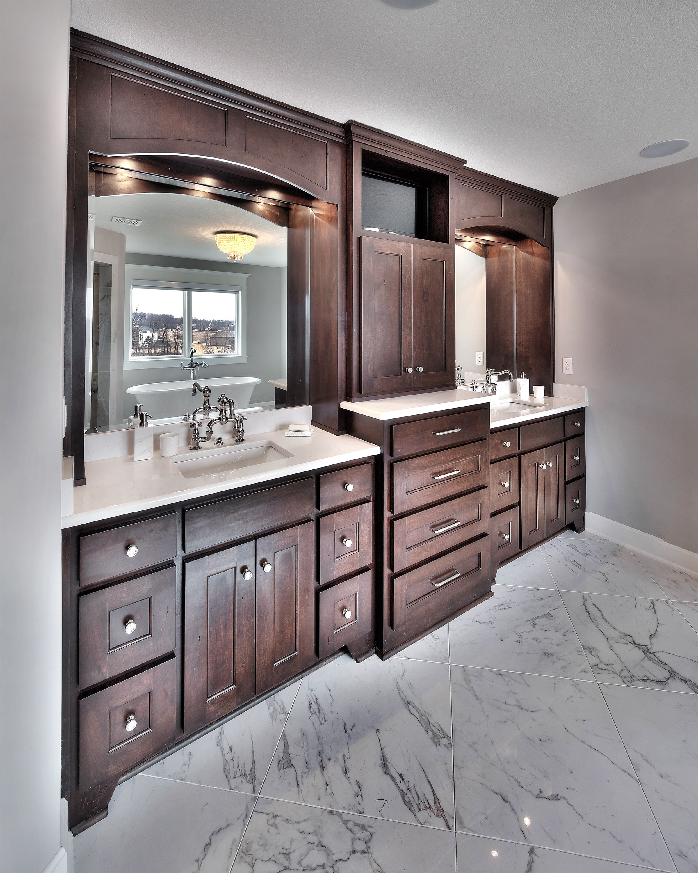 Master bathroom his and her sink future house pinterest