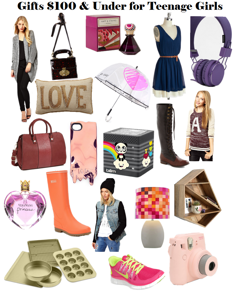 Holiday Gift Ideas for Teen Girls (Under $50 or $100) I love all ...