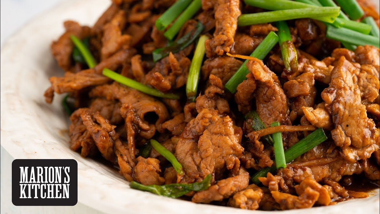 Chinese pork and ginger stirfry marions kitchen