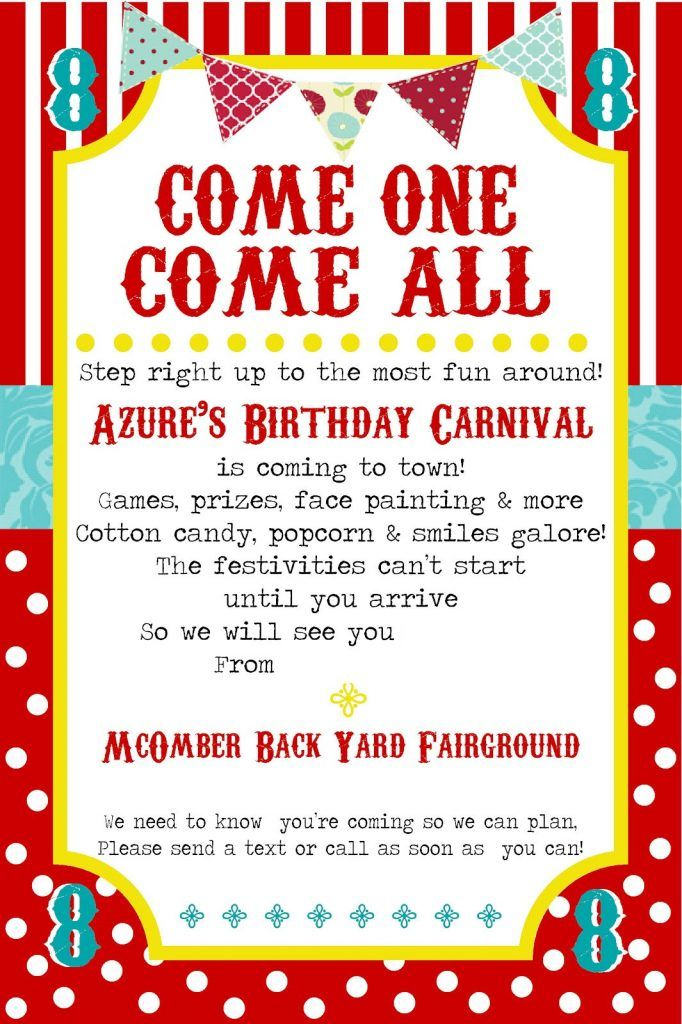 Free-Printable-Carnival-Party-Invitation-Template | carnival/Circus ...