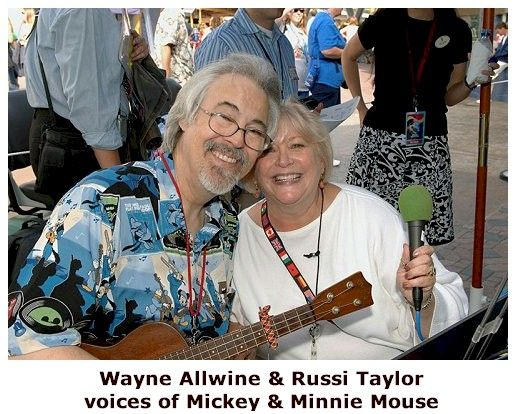 Image result for THE VOICE OF MICKEY MOUSE MARRIED THE VOICE OF MINNIE MOUSE