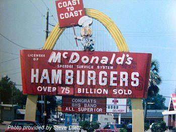 Old Mcdonald S Sign In Biloxi On Pass Rd Biloxi Biloxi Blues Mississippi