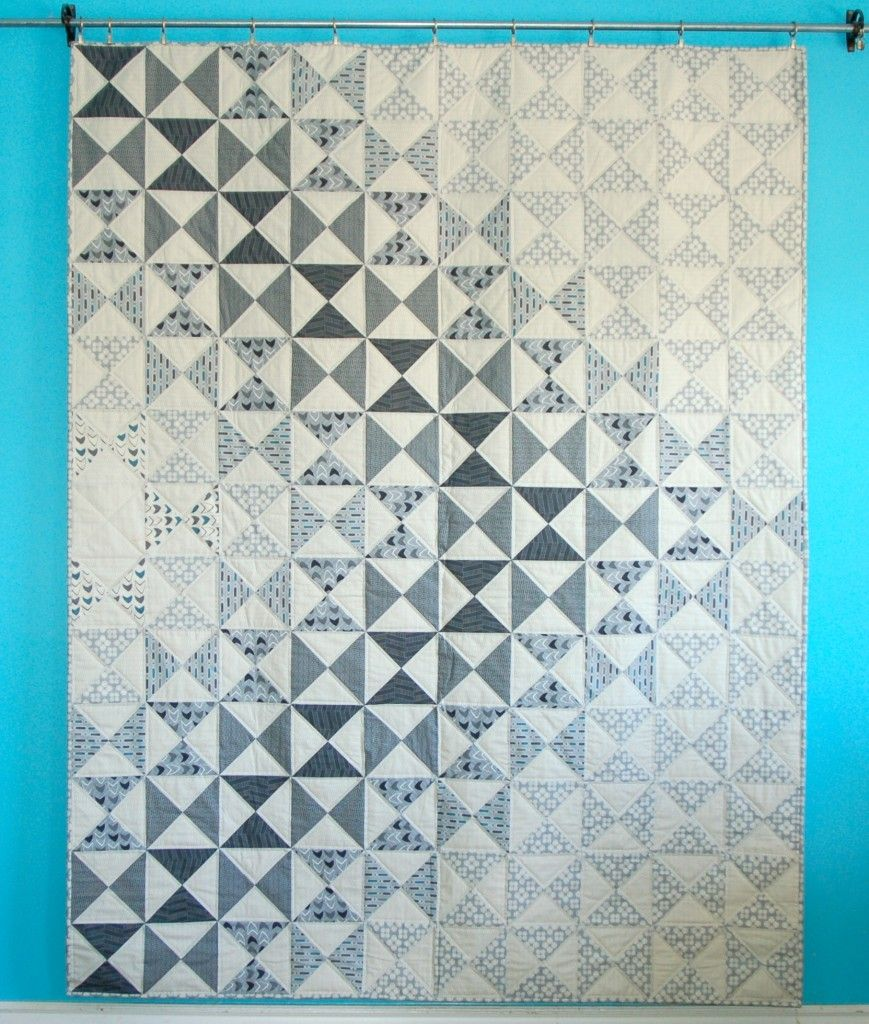 Modern Neutrals Quilts - AmysCreativeSide.com | great layout design on hourglass quilt - love the fabrics used (Amy's new line of fabrics due in Oct 2014).