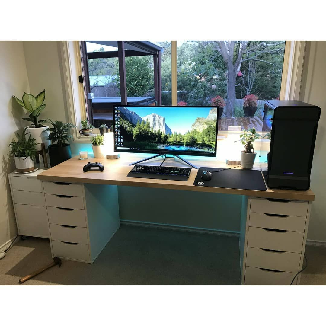10 Outstanding Computer Desk Ideas Space Saving Gorgeous Picture