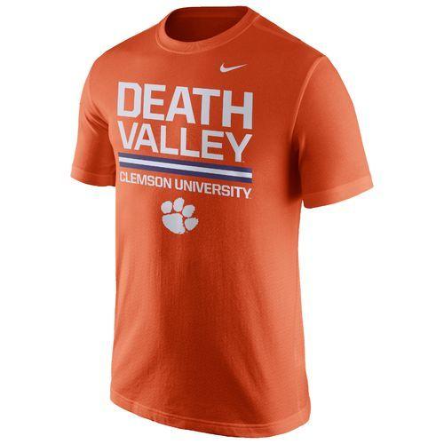 Nike™ Men's Clemson University Local Verbiage Short Sleeve T-shirt