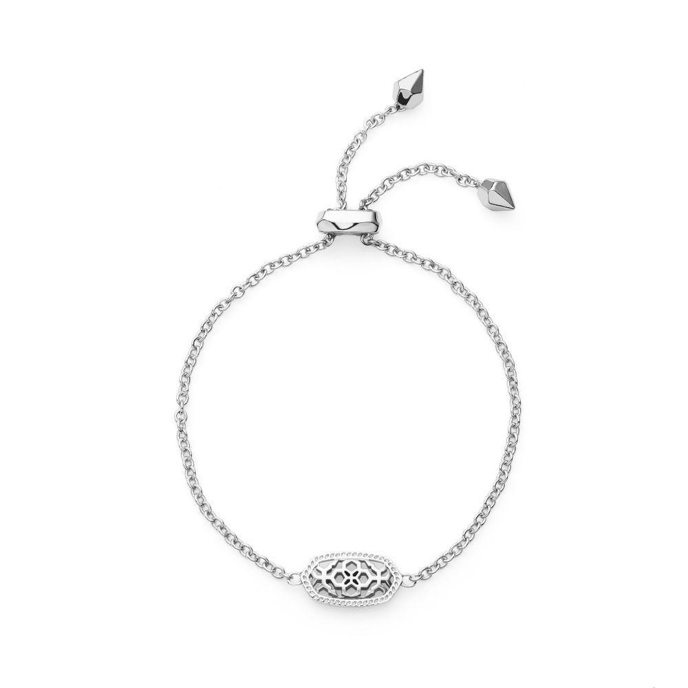 Kendra Scott Elaina Filigree Bracelet in Rhodium Plated | Jewelry & Watches, Fashion Jewelry, Bracelets | eBay!