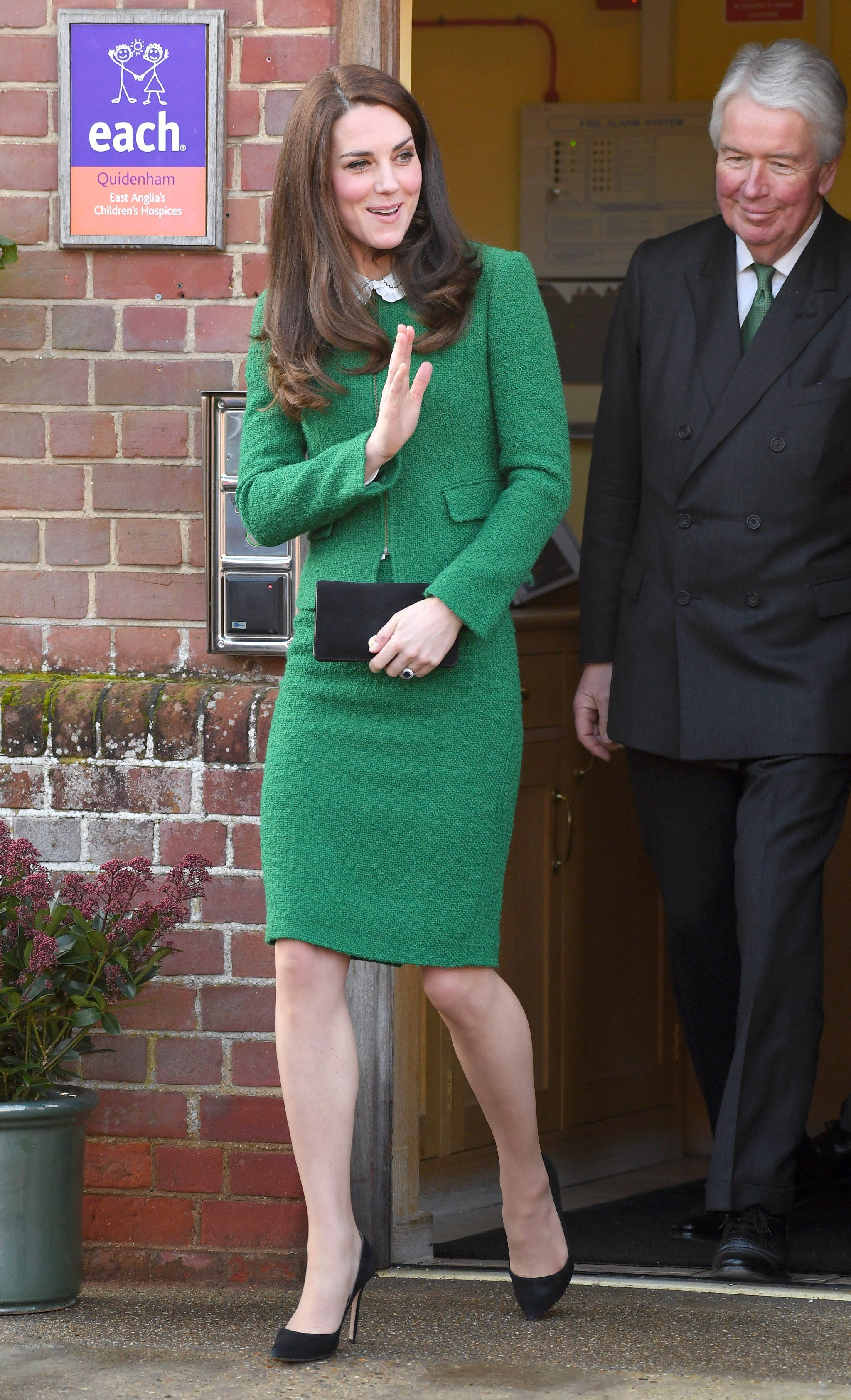 Kate Middleton Wore a Green Suit Jacket to the East Anglia\'s ...