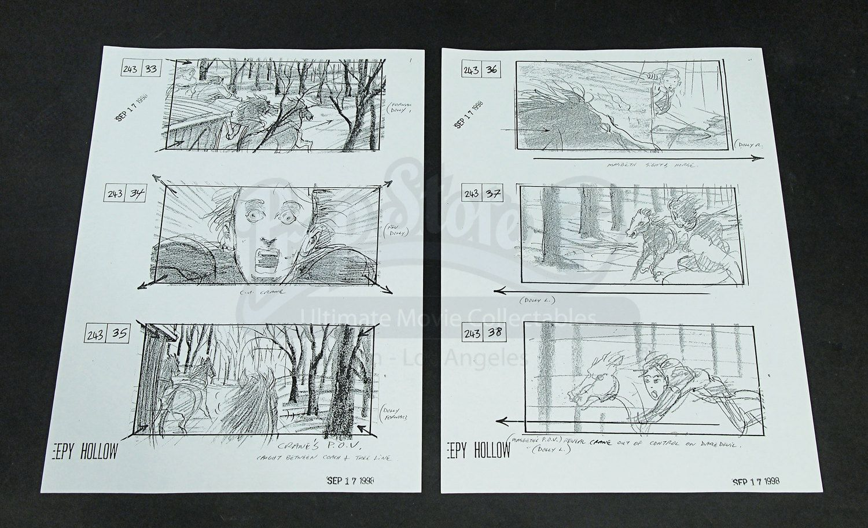 Sleepy Hollow Storyboards
