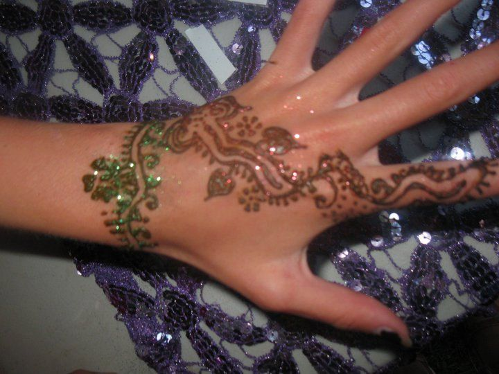 Sale Diy Henna Tattoo Delux Glitter And Jewels Complete Kit With