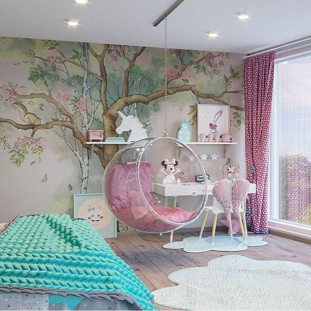 33 Amazing Kids Bedroom Decoration Ideas Kids Bedroom Decor Girl Bedroom Decor Girl Room