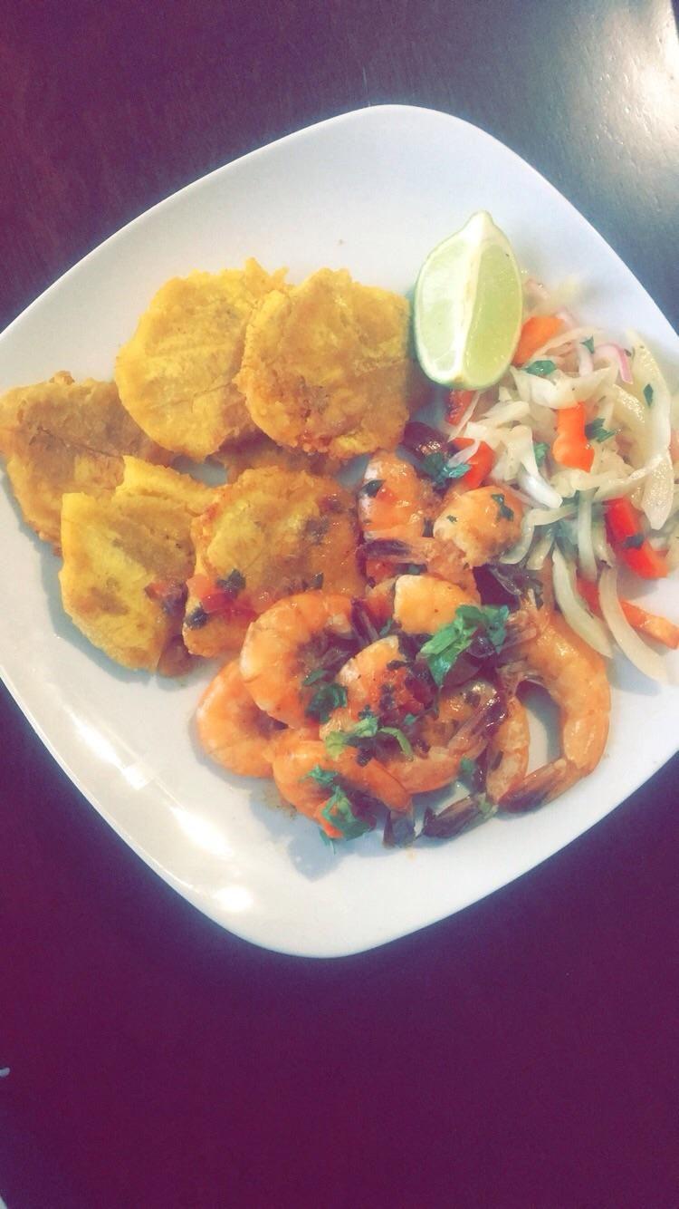 Homemade tropical shrimp plate food recipes food recipes meals homemade tropical shrimp plate food recipes forumfinder Choice Image