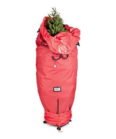 This Red Upright Tree Storage Bag by Santa\u0027s Bags is perfect