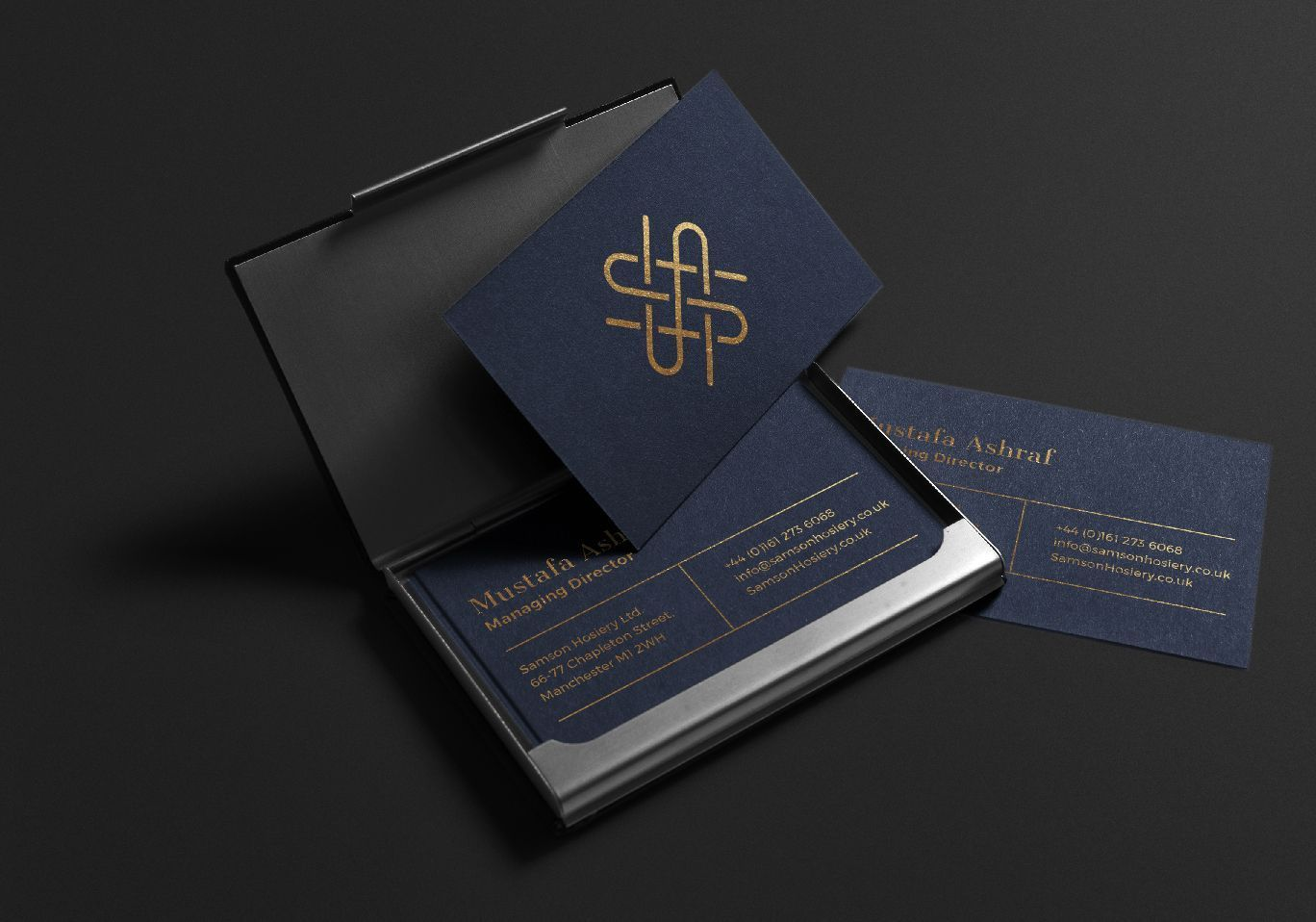 Free Gold Blue Business Cards Design Business Card Logo Design Blue Business Card Business Card Photoshop
