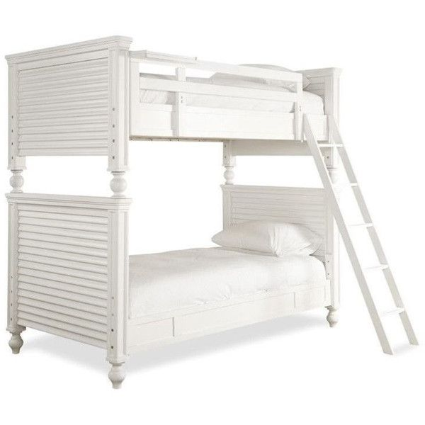 Smartstuff Black and White All American Twin Bunk Bed ($1,550 - Cheap Black Furniture