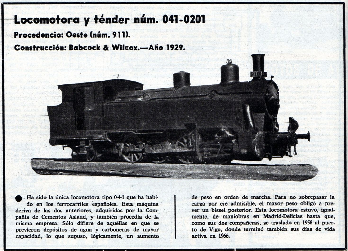 1929  Vía Libre