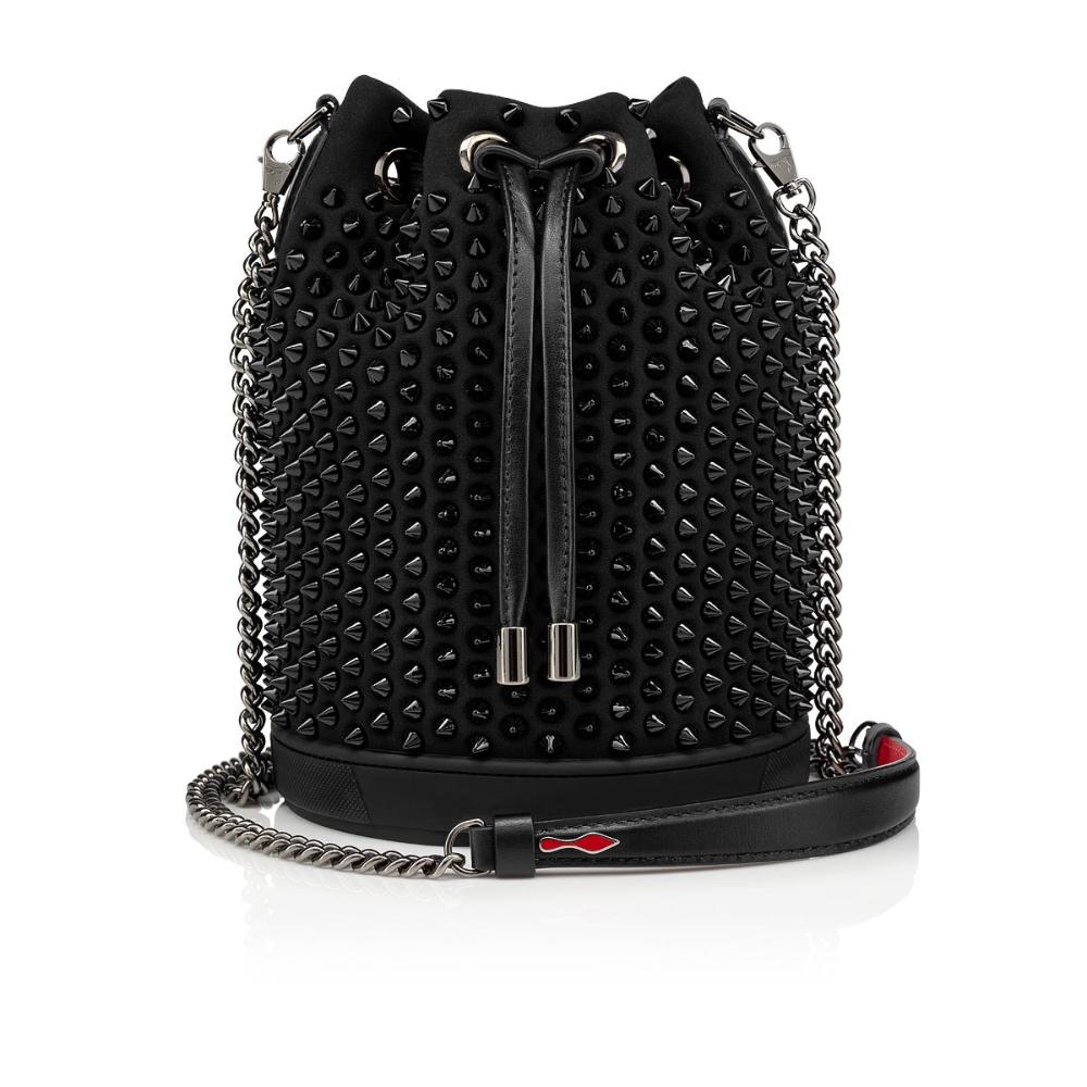 MARIE JANE BUCKET BAG BLACK NEOPRENE Handbags Christian