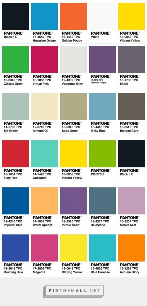 20 Trends Color For Living Rooms 2017: ISPO Color Palette Fall/Winter 2017/2018 ‹ Fashion