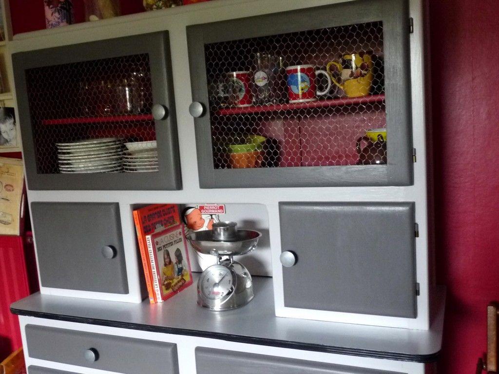 Httpmariefouilliscreationsfileswordpresscom - Meuble cuisine annee 50 pour idees de deco de cuisine