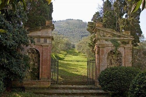 Villa Buonvisi. Tuscany