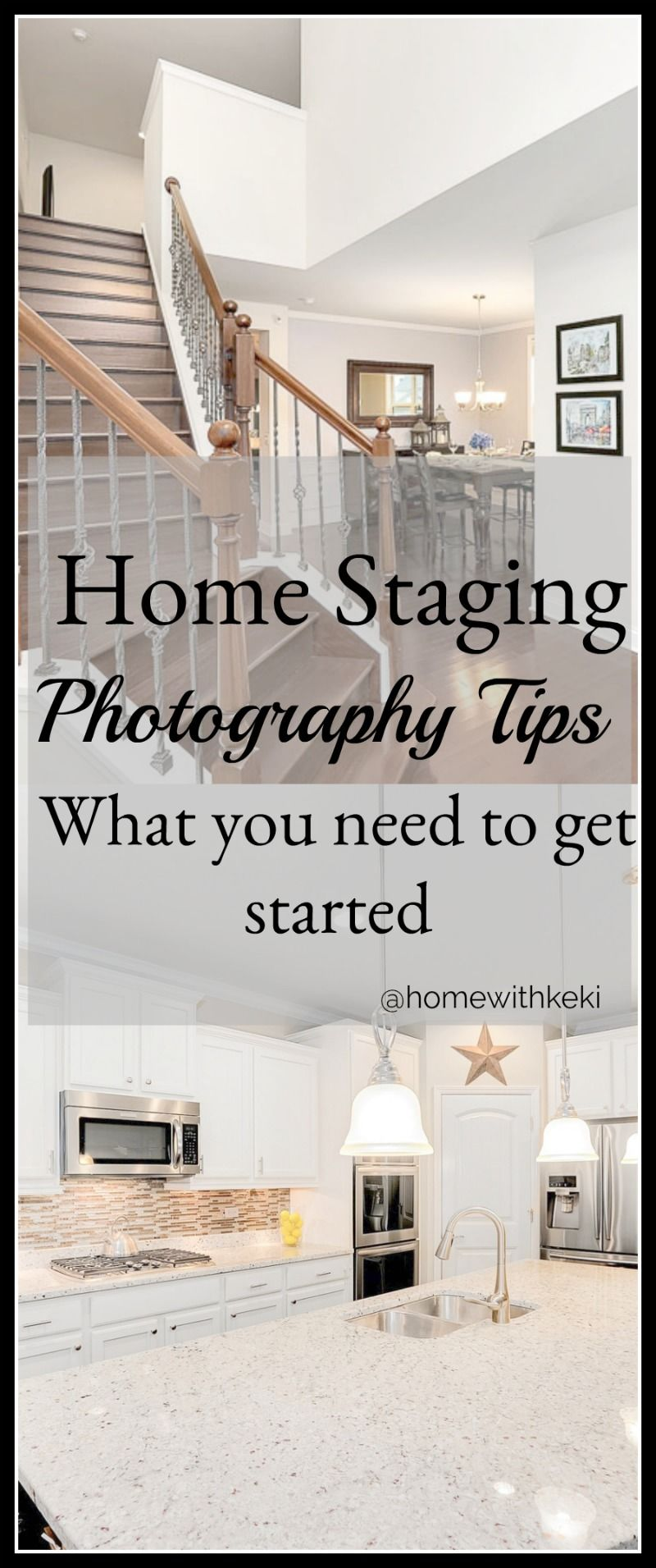 Sharing what equipment and what I use to photograph my home staging ...
