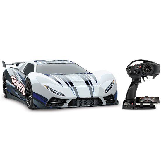 Traxxas Xo 1 100 Mph Brushless 2 4ghz 1 7 Rtr Electric Rc Car Rc Cars Car Remote Control Cars