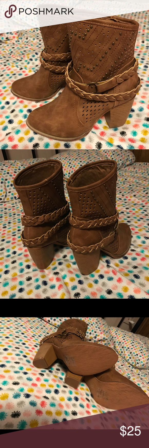 Tan Boots Olivia Miller Size 6 Never Been Worn Flash  Sneakers Delivery