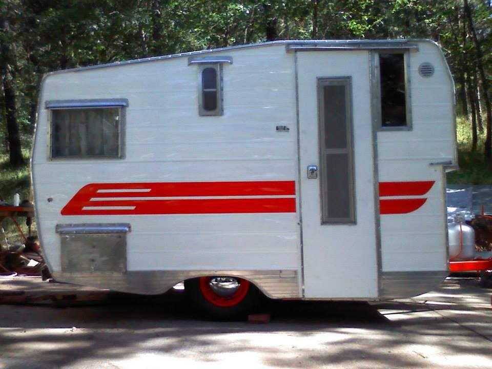 1962 Aristocrat Before And After Remodeled Campers Vintage Trailers Recreational Vehicles