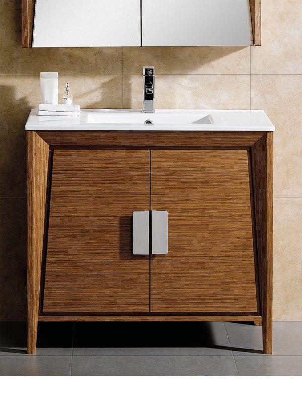 Emerson 35 Single Bathroom Vanity Set Contemporary Bathroom Vanity Mid Century Bathroom Vanity Vanity