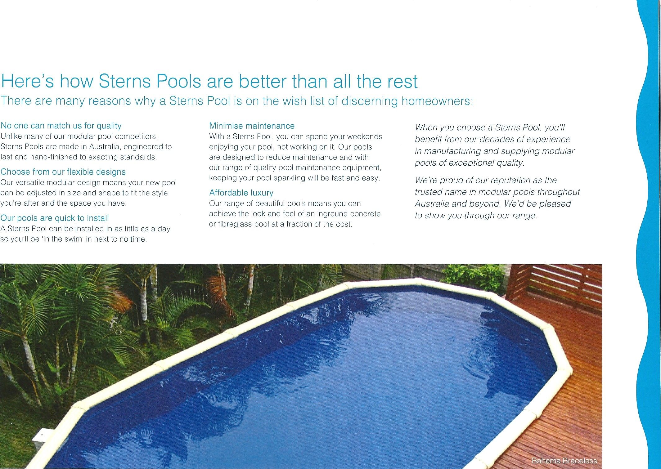 This Is Why Sterns Pools Are The Best Above Ground Pool Pool In Ground Pools