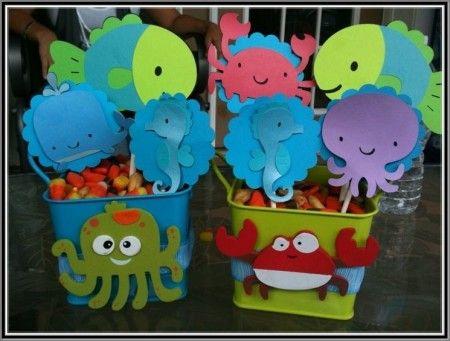 Baby Shower Favors Under The Sea ~ Under the sea baby shower centerpiece ideas dance ideas